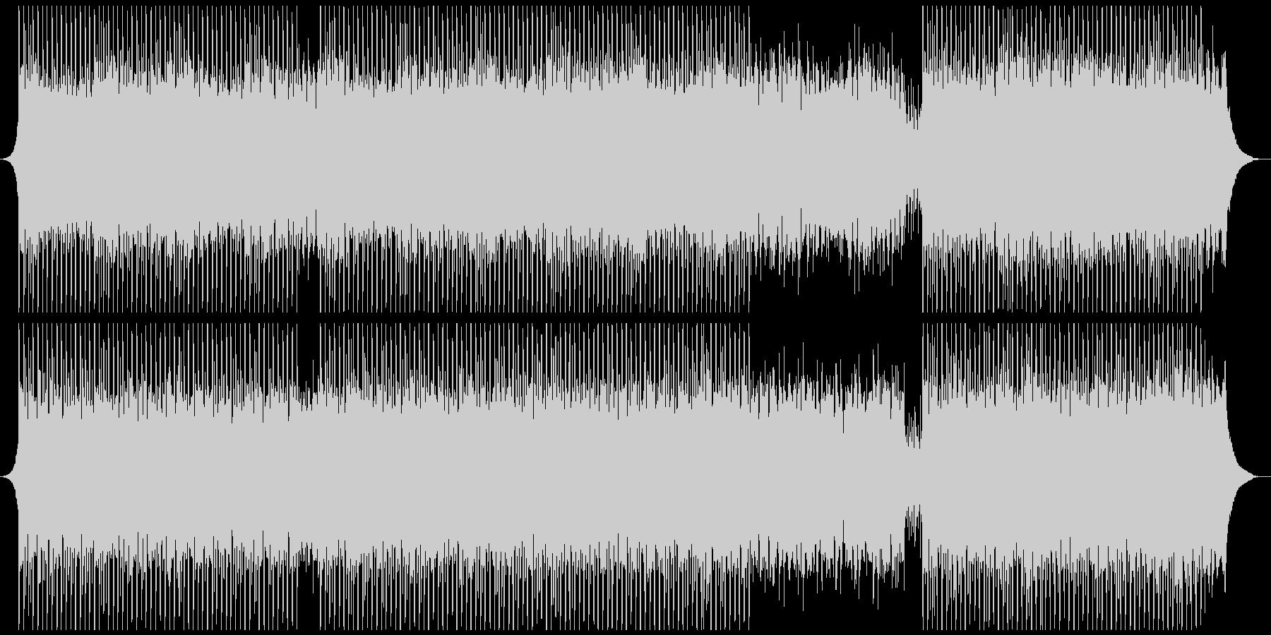 機関の未再生の波形