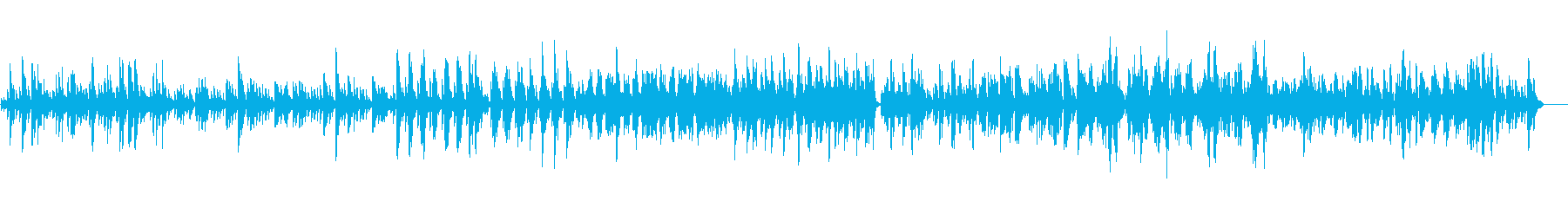 ビブラフォンのゆったりとした悲しい曲の再生済みの波形