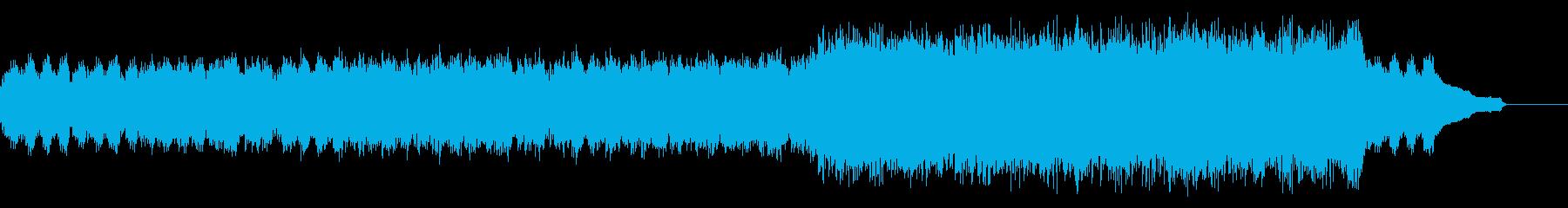 企業VP映像、119オーケストラ、爽快bの再生済みの波形