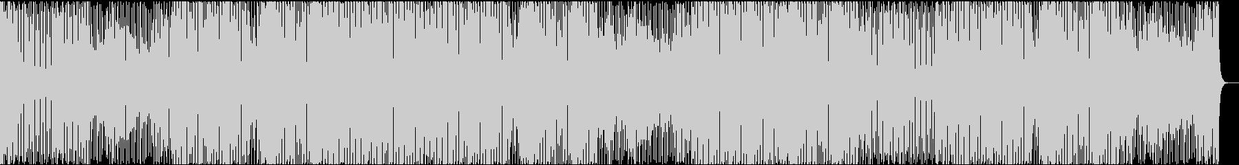 ファンキーでクールなアシッドジャズの未再生の波形