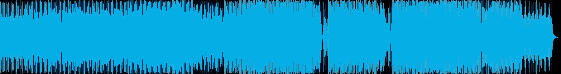グルーヴ反復ジャズとソロマリンバ。の再生済みの波形