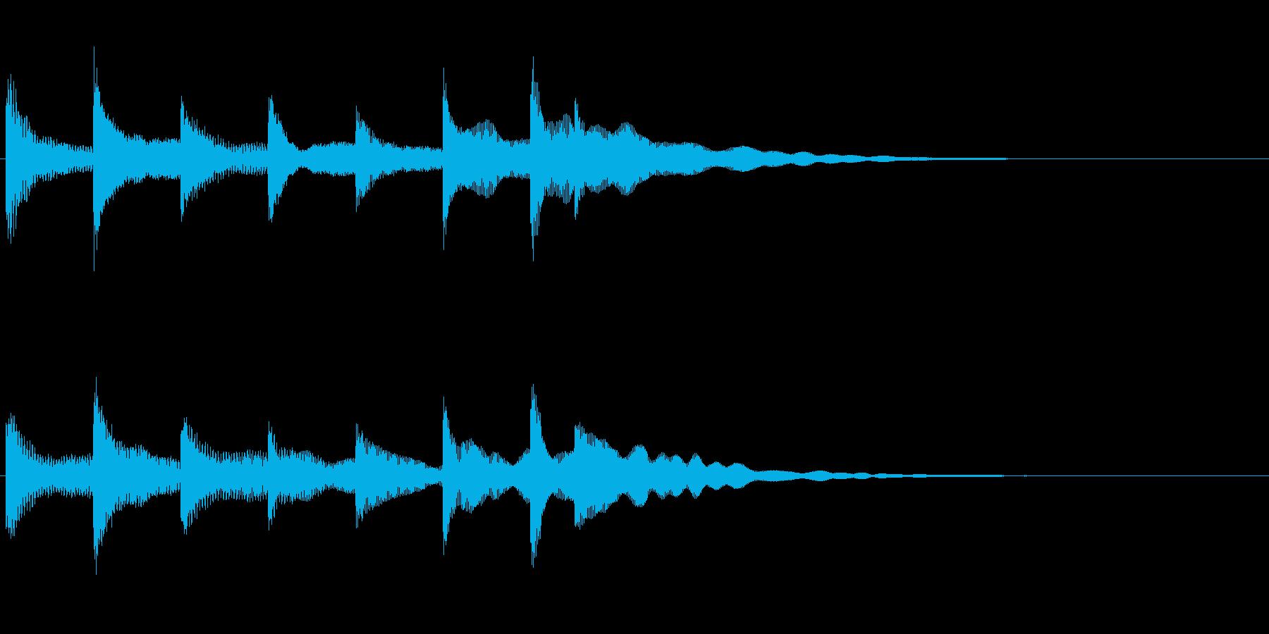 企業CM・映像向きアイキャッチの再生済みの波形