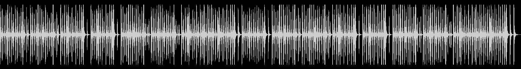リコーダーとピアノのほのぼの系、子供の未再生の波形