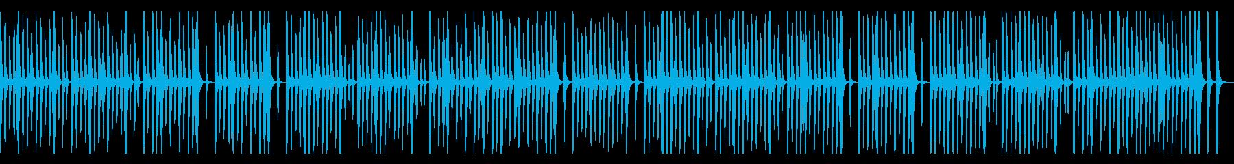リコーダーとピアノのほのぼの系、子供の再生済みの波形