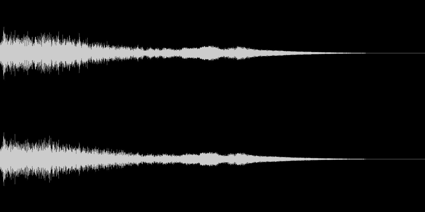 [ヒューン]キャラ死亡・失敗(コミカル)の未再生の波形