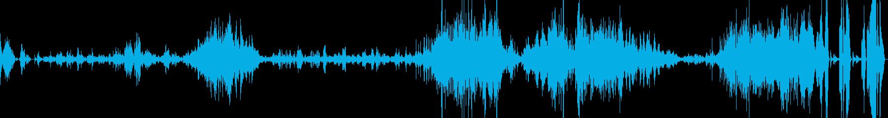 ショパンのバラードOp23の再生済みの波形