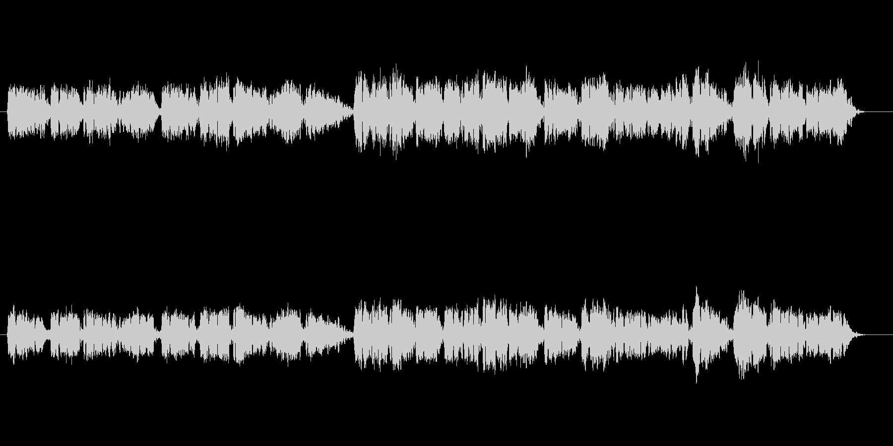 オーボエの音色が壮大な癒しミュージックの未再生の波形