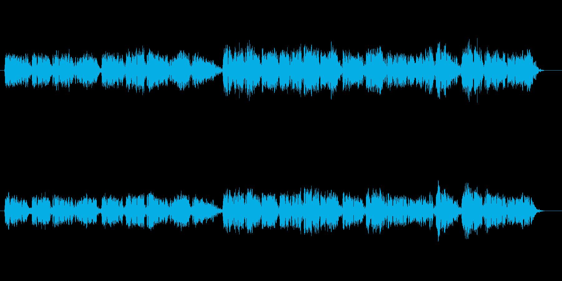オーボエの音色が壮大な癒しミュージックの再生済みの波形