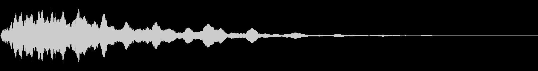 トロピカルIDロゴ1の未再生の波形