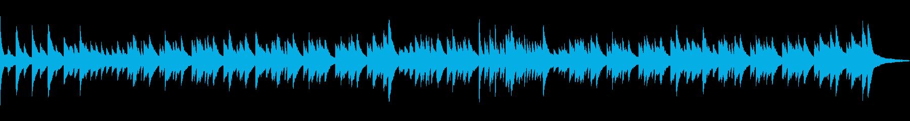 春の音連れをイメージしたピアノワルツの再生済みの波形
