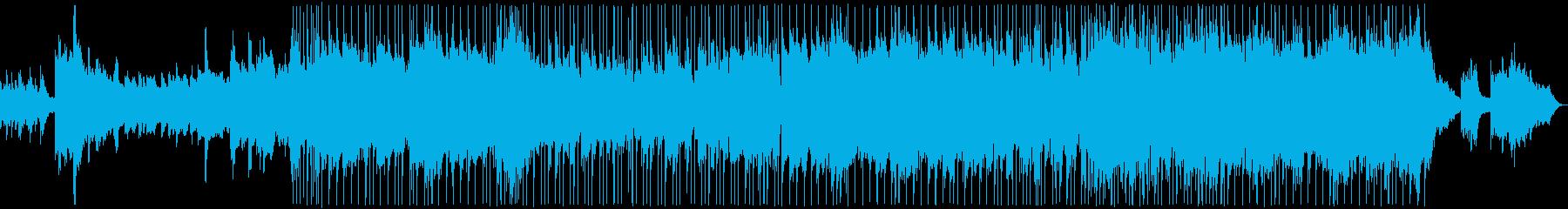 エレピが心地よいバラードの再生済みの波形