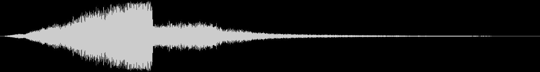 【SF・近未来】トレーラー(タイトル)の未再生の波形