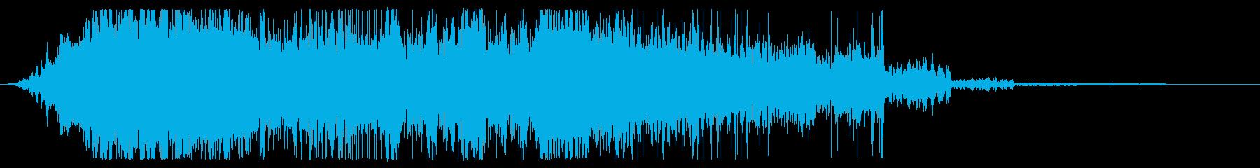 マテリアルムーブメント、ブレンダー...の再生済みの波形