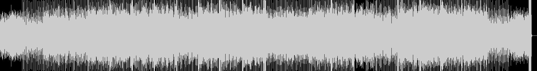 カッコいいテクノBGM曲の未再生の波形