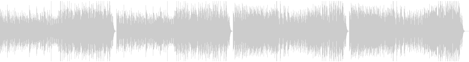 調理シーン向けのクラシック曲01の未再生の波形