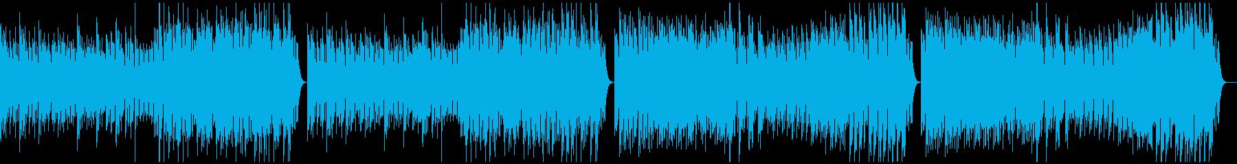 調理シーン向けのクラシック曲01の再生済みの波形