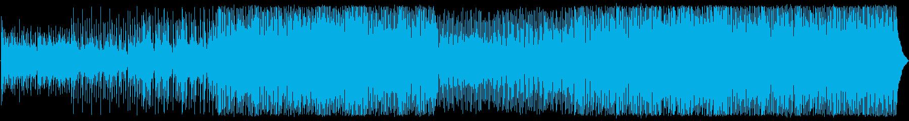美しい動きとオリジナルのメロディー...の再生済みの波形