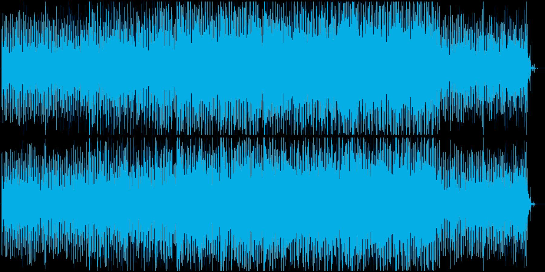 オープニングにぴったりなEDMの再生済みの波形