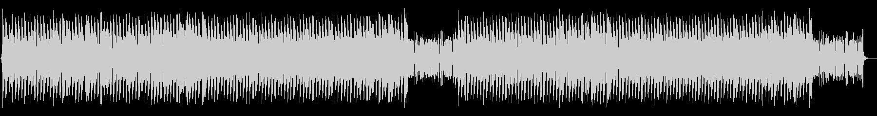 ゴリゴリしたベースのファンキーなハウスの未再生の波形