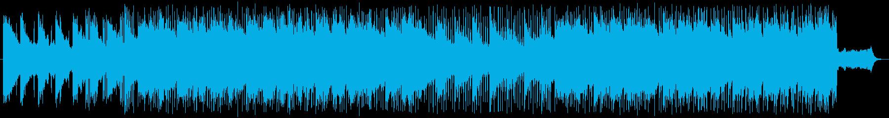 キラキラの水の中にいるようなギターポップの再生済みの波形