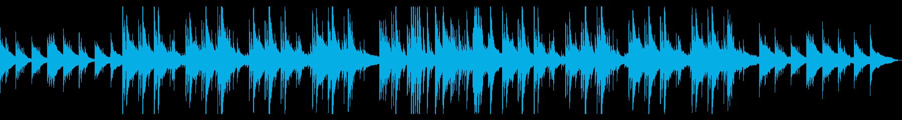 少し切なくどこか懐かしいアコギバラードの再生済みの波形