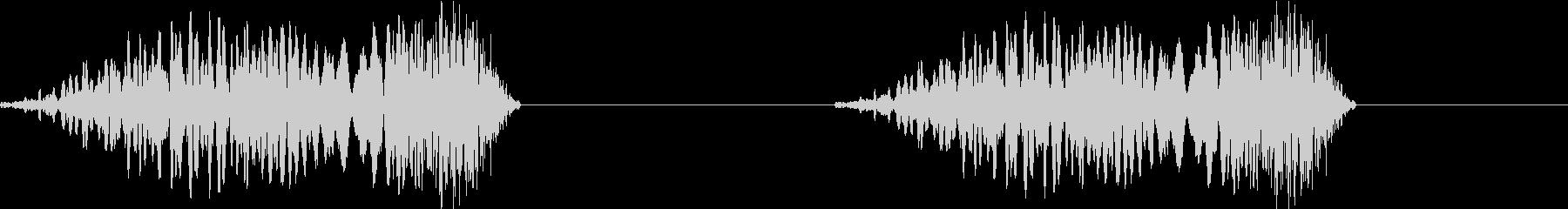 DJプレイ スクラッチ・ノイズ 175の未再生の波形