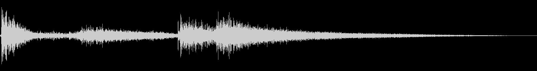 ローブームスイープ2の未再生の波形