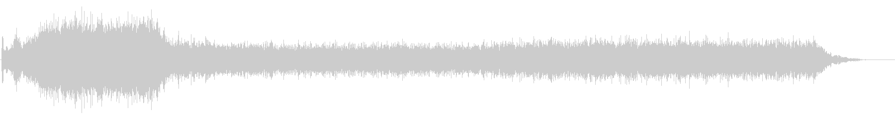 PC 駆動音02-01(オンオフ)の未再生の波形