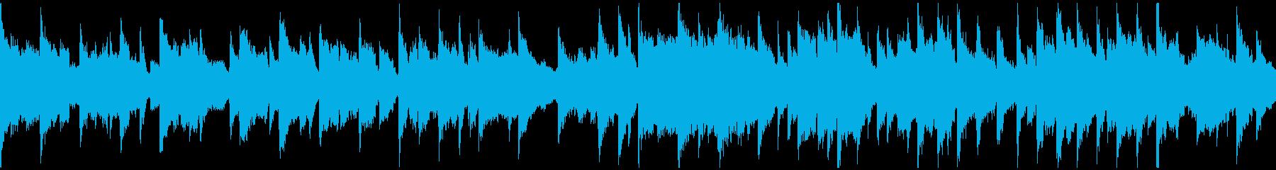 安らぐ音色の穏やかヒーリング ※ループ版の再生済みの波形