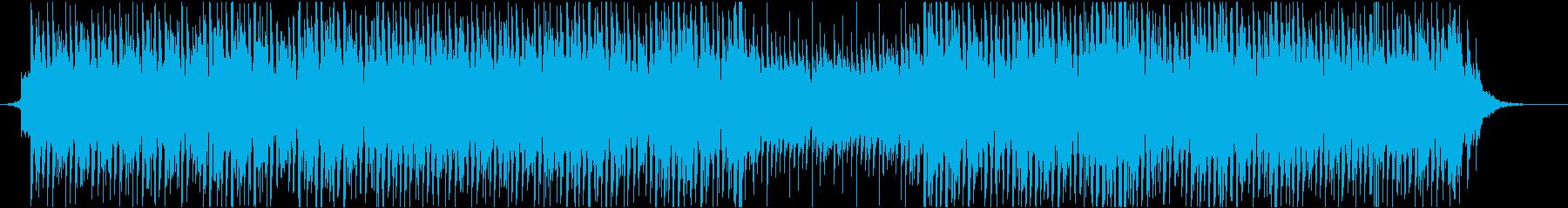 企業VPに使いやすいエレクトロポップの再生済みの波形