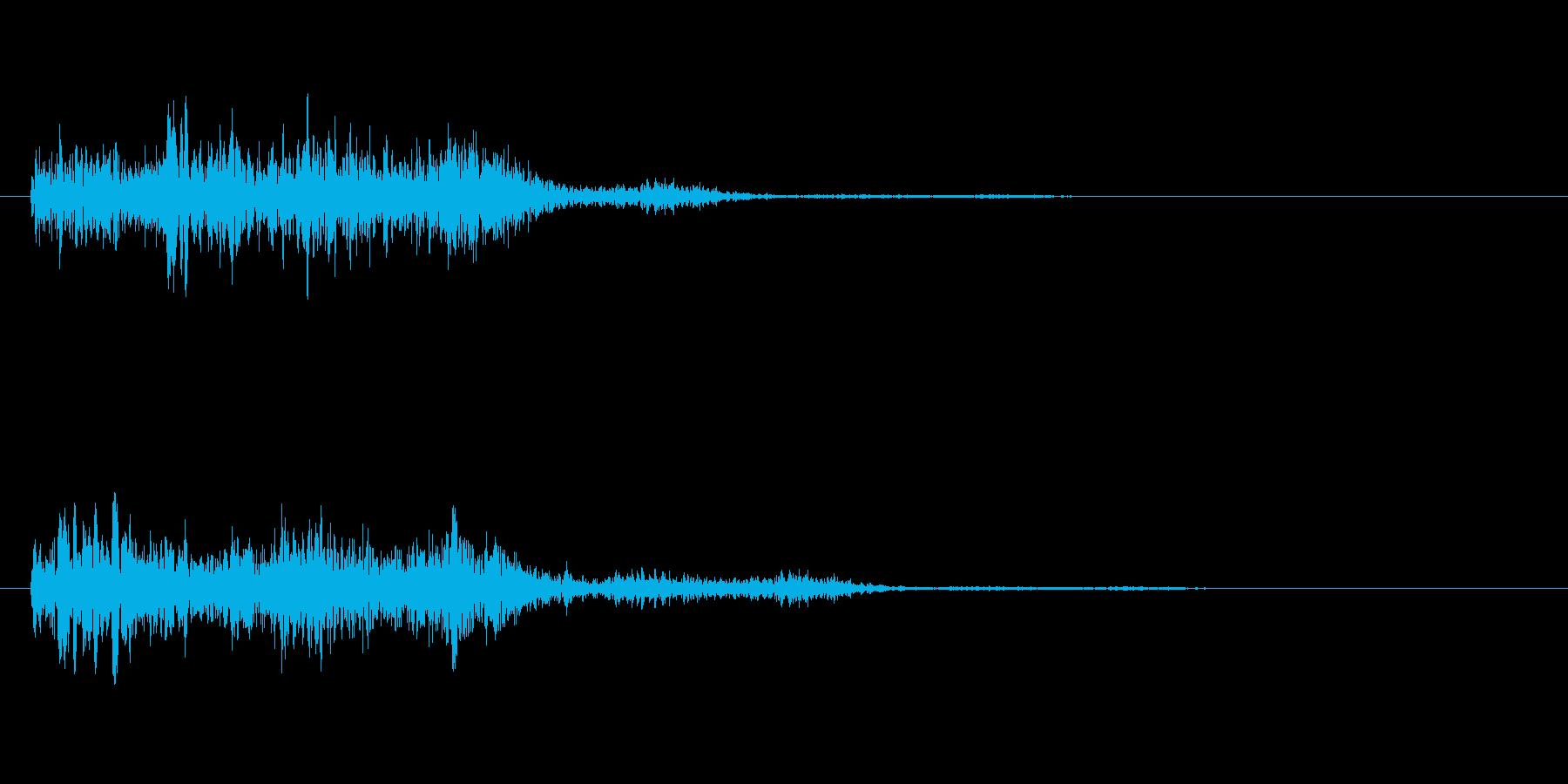 強化する魔法の再生済みの波形