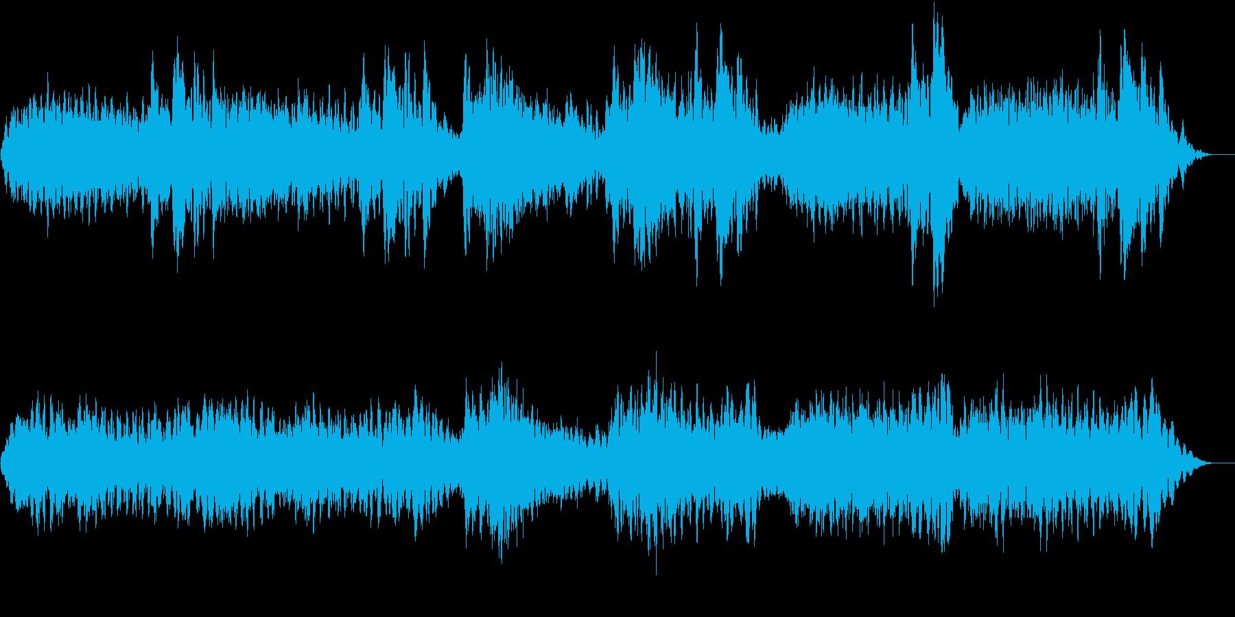 アンビエントな劇伴  の再生済みの波形