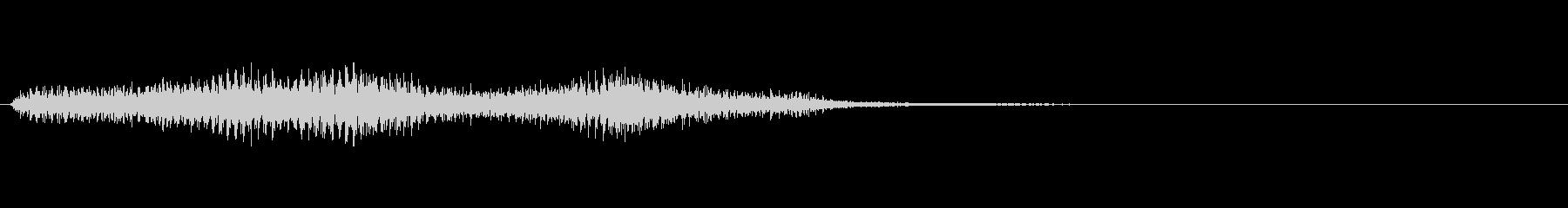 ショッキング(ホラー)3の未再生の波形