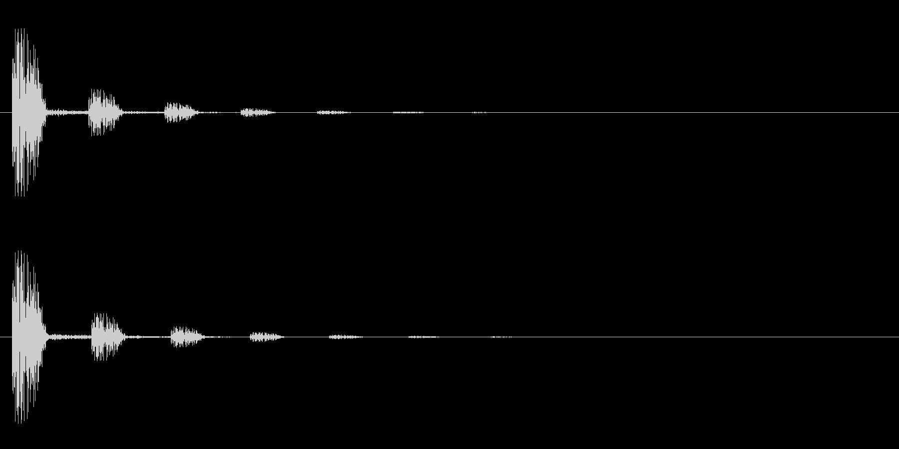 レーザー音-32-2の未再生の波形