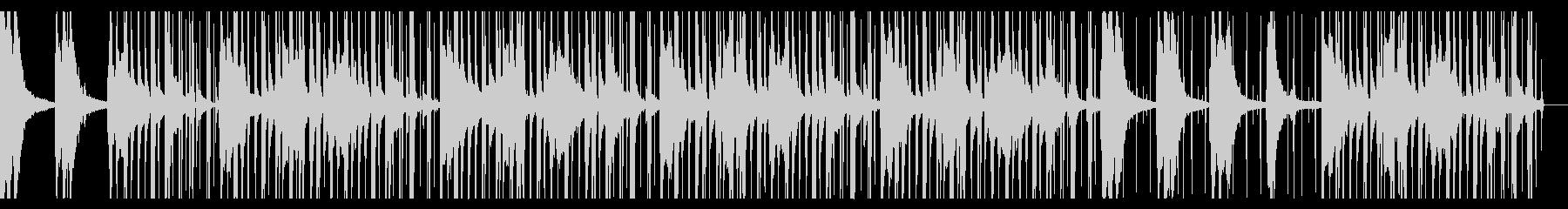 ローファイヒップホップ ウッドベースの未再生の波形