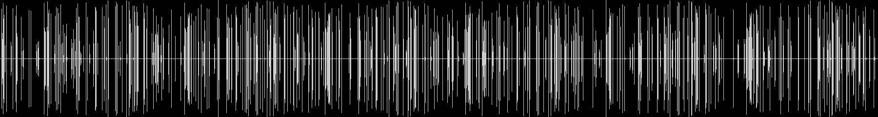 ブツブツ(ノイズ)の未再生の波形
