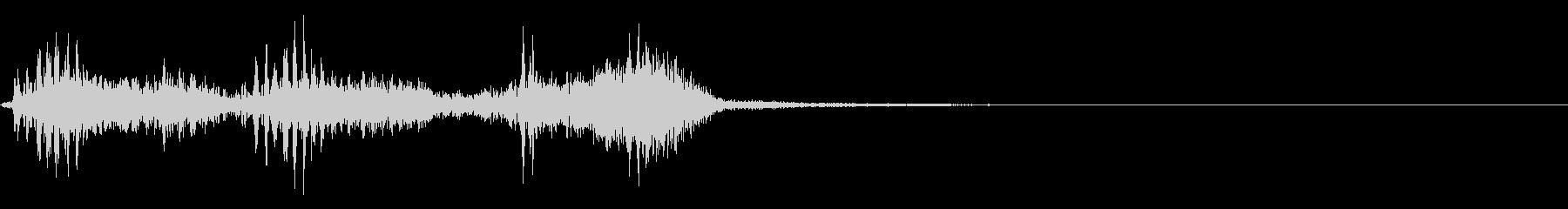 【生録音】フラミンゴの鳴き声 40の未再生の波形
