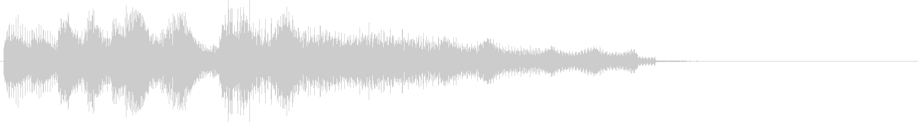 Comical and mysterious jingle # 1's unreproduced waveform