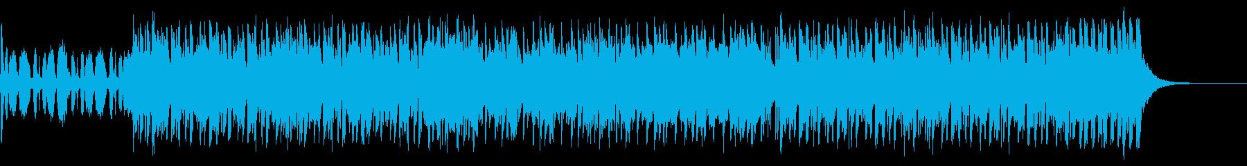 反撃開始のテーマの再生済みの波形