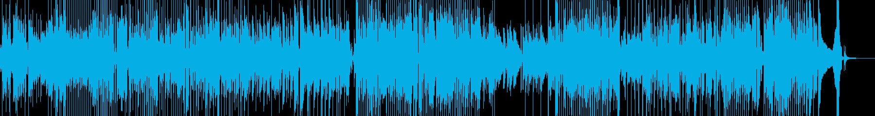 明るく前向きな気持ちになるジャズ 短尺★の再生済みの波形