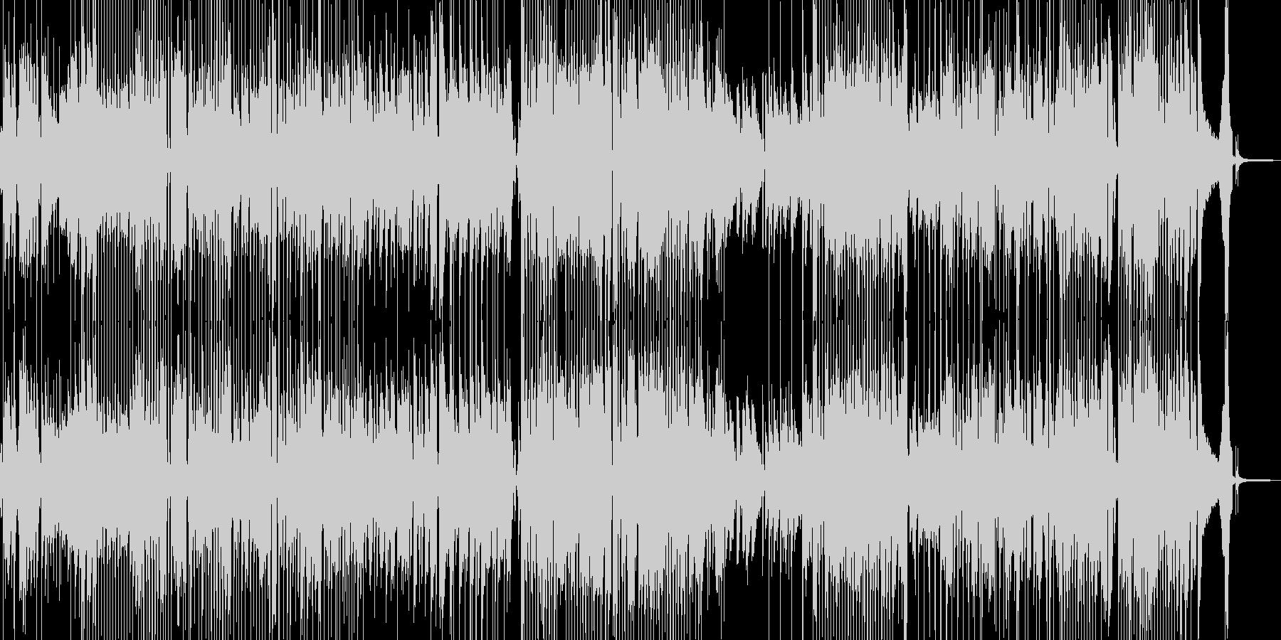 前向きで明るい気持ちになるジャズ ★Sの未再生の波形