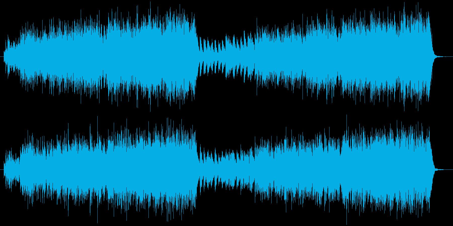 ループ用の曲です。のんびりお散歩への再生済みの波形