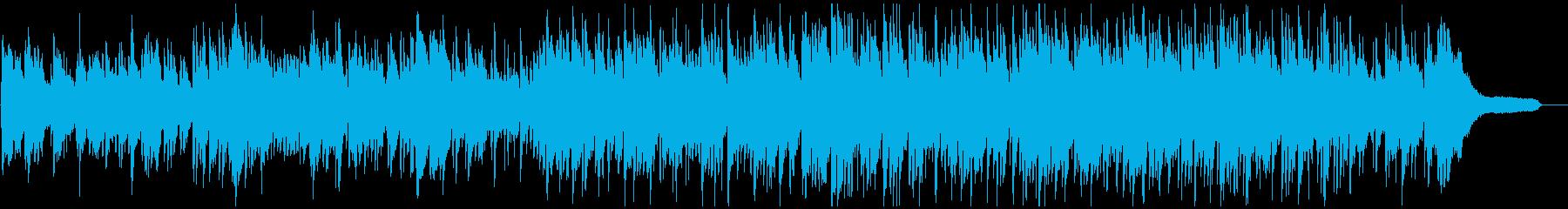 爽やかな旋律の切ないボサノバ・ジャズの再生済みの波形