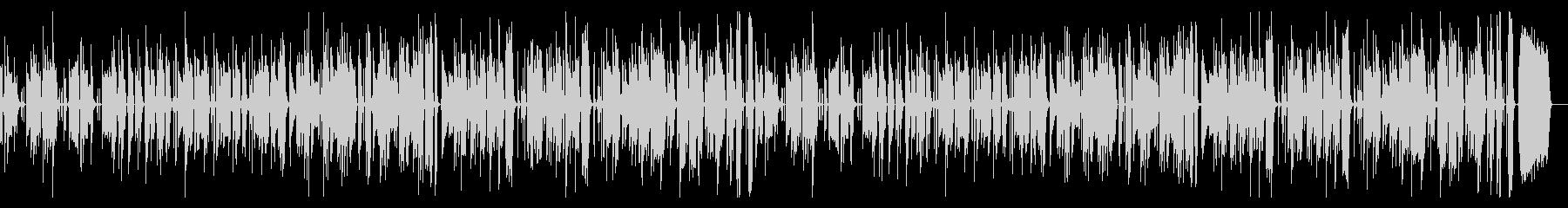 ほのぼのベースの未再生の波形