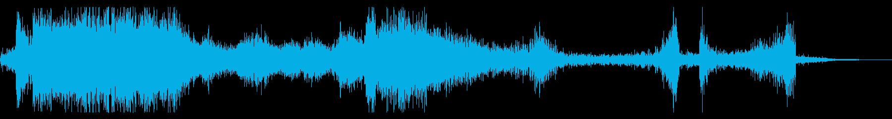 メタルワープ、スチールケーブルのピ...の再生済みの波形