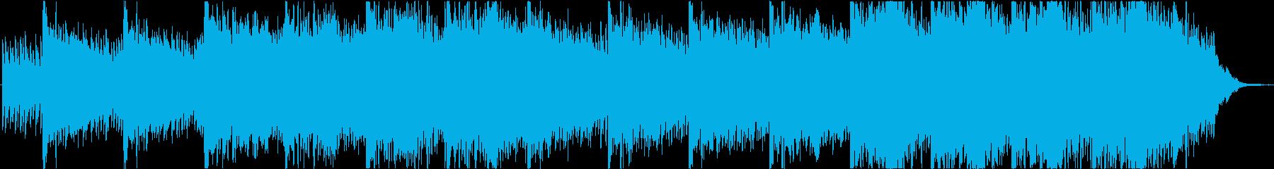 Piano music trackの再生済みの波形