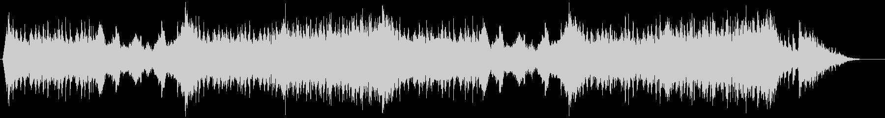 スリリングなBGM(バトルシーンなどに)の未再生の波形