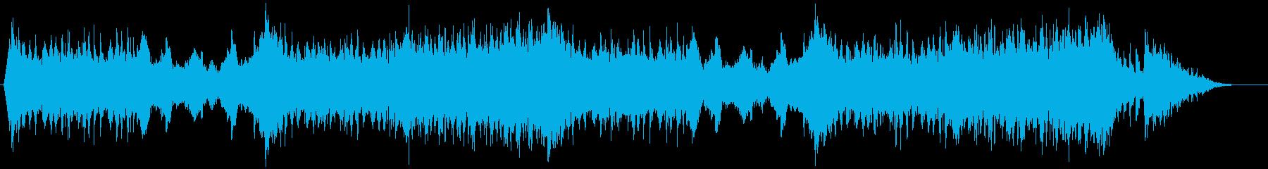 スリリングなBGM(バトルシーンなどに)の再生済みの波形