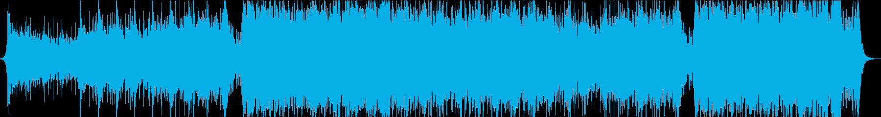 重圧な感じのシネマティックオーケストラの再生済みの波形