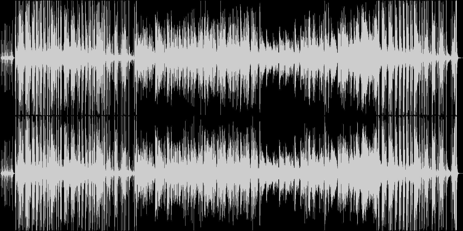 トロンボーンのジャズスタジオ。ブルース。の未再生の波形